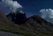 Stunning Mount Kailasha...Black & White Beauty