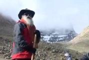 Sadguru on the way to holy Kailasha