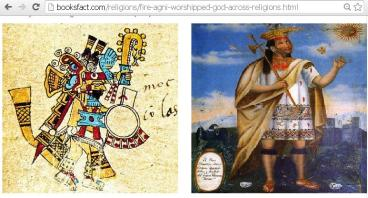 Similar stories like Hindu God of Fire (Agni) in other religions Photo: Booksfact.com