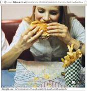 mmm I'm hungry...Eating with hands is best way for Fast Foods!