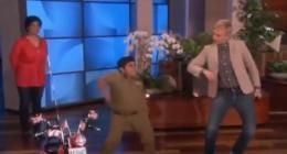~ Indian Kid Dancing @ The Ellen Show