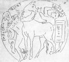 Lord Ram's son Luv and Kush capturing 'Ashwamedha' Horse of Rama. Locally they were called as Remus and Ramulus as Ram's sons. Painting found in Italy confirms Hindu histroty in that region Photo: Booksfact.com