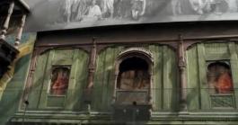 Old Style Indian House @ Jaya He Art wall