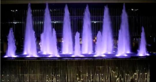 Beautiful Musical fountain