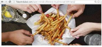 Fast food and Best Friends....we don't care who is thinking what about us!