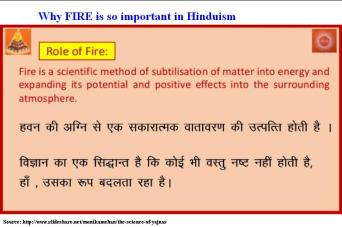 Why Fire is so important in Hinduism