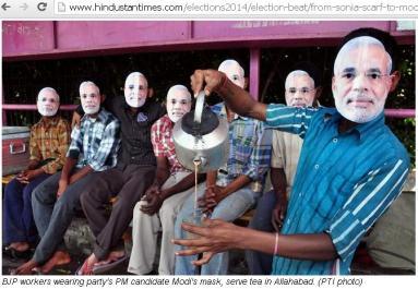 "Chai Pe Charcha - ""Discussion at Tea"" Election Campaign"