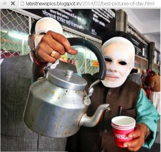 Chai (Indian Tea) Campaign to woo voters