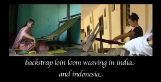 Loom weaving- India-Indonesia