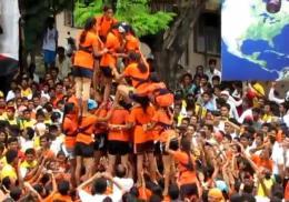 ~ Krishna Dahi-Handi Festival: Govinda aalare…aala..