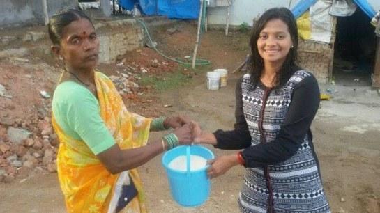 Rice-Bucket-challenge-India