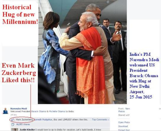 """Narednra-Modi-Barack-Obama-Hug-India-25-Jan-2015"""