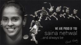 ~  India's Badminton Queen Saina Nehwal is new World No 1