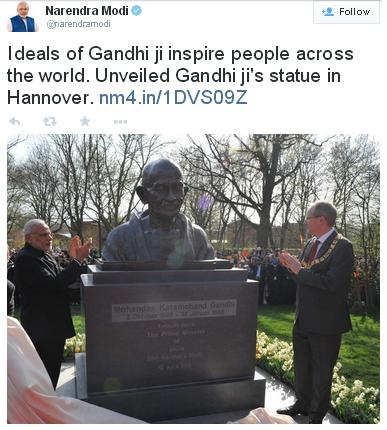 April-Gandhi-Statue-Hannover-Germany