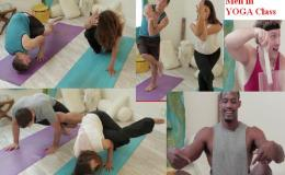 ~ Men Try Yoga For FirstTime!