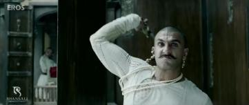 Actor Ranveer Singh as Bajirao Peshwa