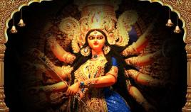2-Royal-Blue-Durga-Bharmacharini