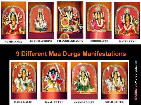9-goddess-Durga-Menifestations