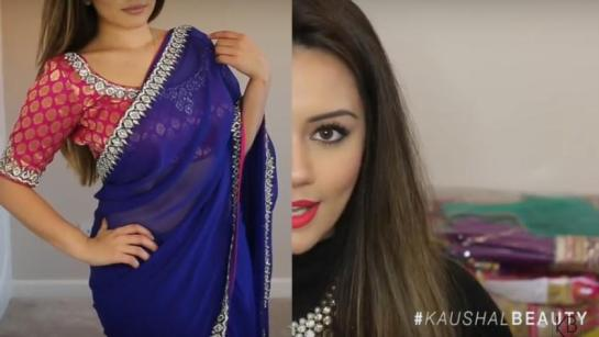 Diwali-fashion-Hindu-Diwali-Make-up-Fashion-Indian-Women-FEstival-sari-saree