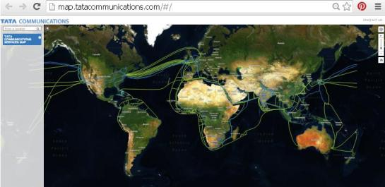 India-Optic-Fiber-Network-Globe