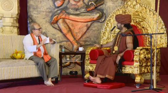 Interview-Hinduism-Kumbha-Mela-Akhada-Rajiv-Malhotra-Nithyananda-Paramhansa-Hinduphobia